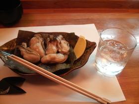 牡蠣と昆布・・・味吉祥