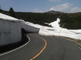 雪の回廊・・・蔵王