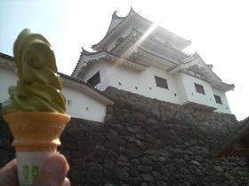 白き城と緑の塔・・・白石城