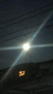 月がとっても・・・スーパームーン