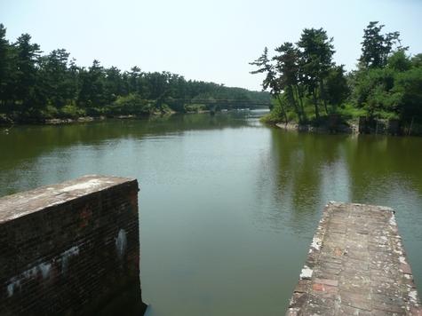 新鳴瀬川と南北上運河