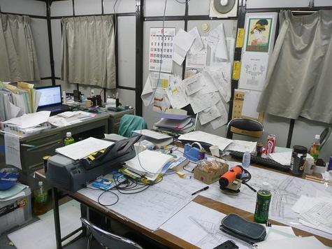 事務所が汚いと