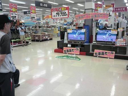 TV売り場