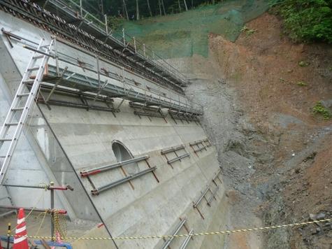 今日から砂防ダム
