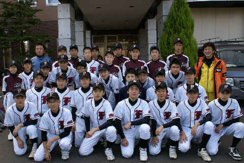 ☆弘前大学教育学部付属中学校・野球部の皆様☆