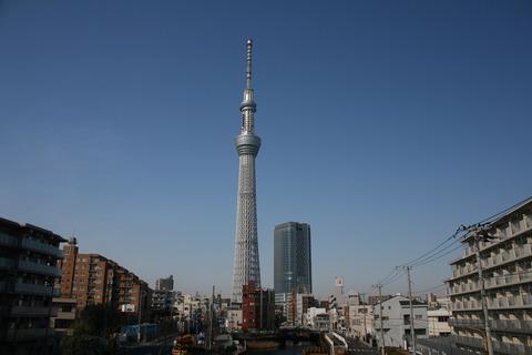 今日で東京スカイツリー開業1周年となります!