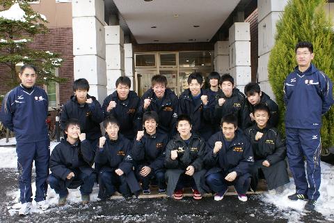 東陵高校バレーボール部の皆様にご宿泊いただきました!