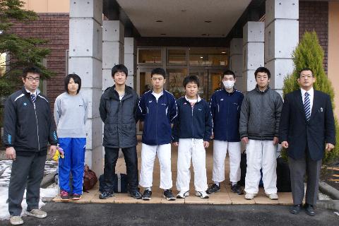 気仙沼向洋高校柔道部様にご宿泊いただきました!