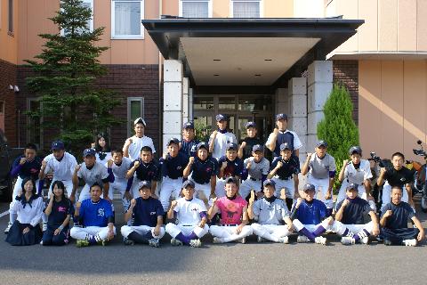 気仙沼高校硬式野球部様にご宿泊いただきました!