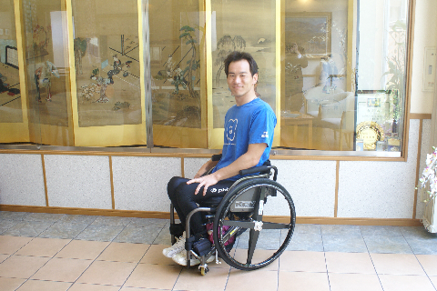 ジャパンパラリンピック陸上競技大会参加の方にご宿泊頂きました
