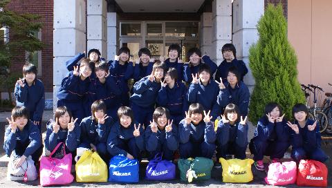 盛岡南高校女子バレーボール部にご宿泊頂きました('u'*)