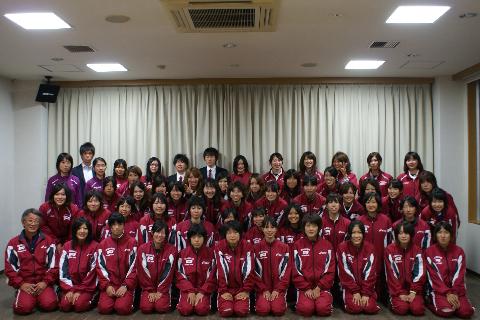 立命館大学体育会女子陸上競技部様にご宿泊いただきました!