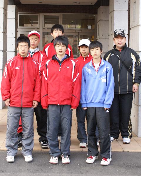 福島県西郷第二中学校男子ソフトテニス部様にご宿泊頂きました!