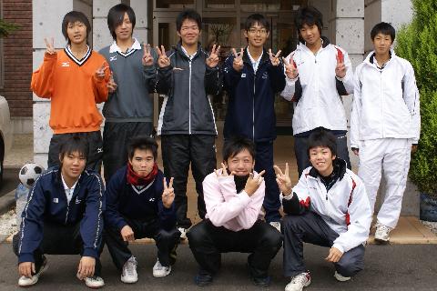 酒田南高校ソフトテニス部様にご宿泊いただきました!