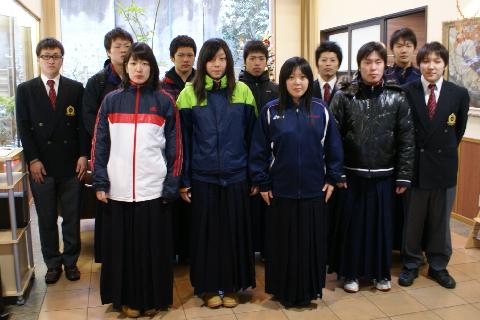 青森大学剣道部様にご宿泊いただきました!