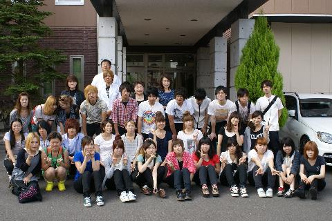 青森県ヘアアーチスト専門学校様にご宿泊いただきました!