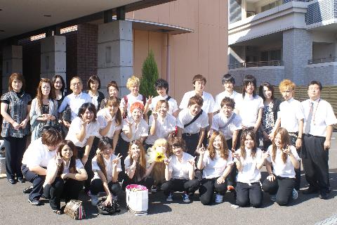 青森県ヘアアーチスト専門学校様にご宿泊頂きました!