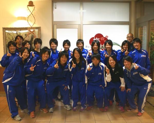 藤枝順心高校女子サッカー部様にお泊り頂きました。