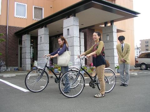 貸し出し品、レンタル自転車等々についての質問