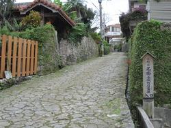 金城町石畳道を歩く