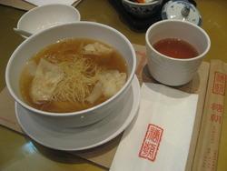 糖朝のワンタン麺