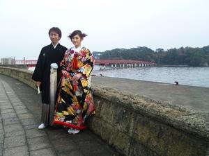 松島でブライダル撮影