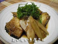 焼かれい 夏の煮魚