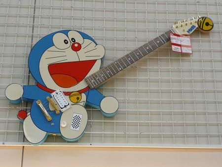 ドラえもんのギター発見