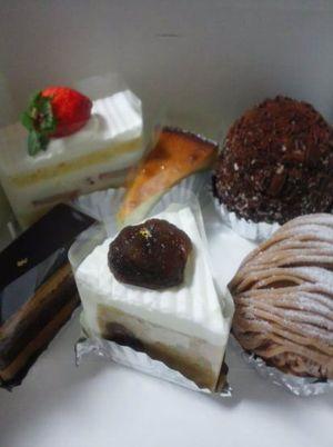 ケーキ館 三銃士