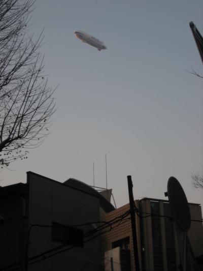 飛行船ツェッペリンNT「城西国際大学号」