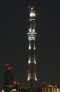 あと数分で今年も終わり。今の東京スカイツリー