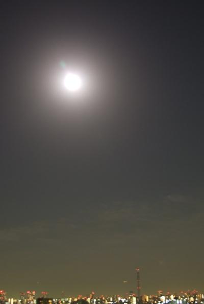 2011年3月19~20日の夜はスーパームーンだった。