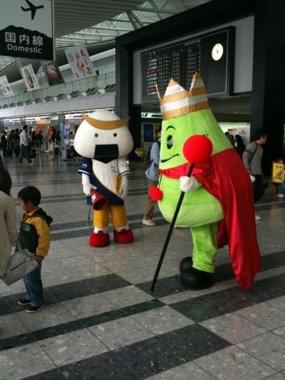 昨日の仙台空港でのむすび丸(提供taichan様のご友人様)