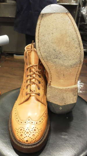 Trickers ヴィンテージスチール