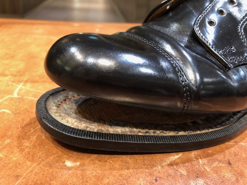 靴底の剥がれ