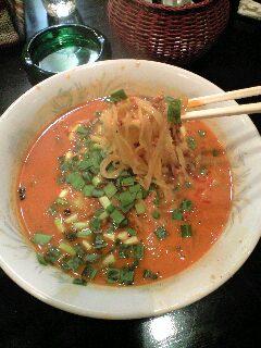 長城 坦々麺