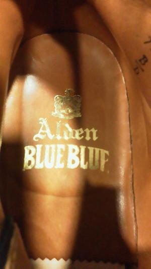 ALDEN×BLUE BLUE