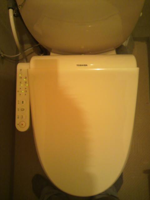 マンション 温水洗浄便座交換