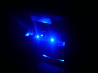 センターコンソールにも照明を♪