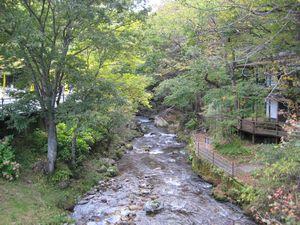 清水川遊歩道