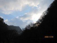 朝の空by龍泉洞
