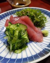 夏鮪と里山路地野菜