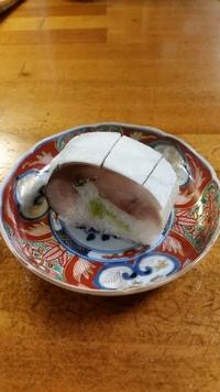 里山の鯖寿司‼