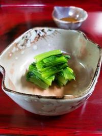 つぼみ菜と貝②