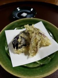 秋茗荷の天ぷら‼️