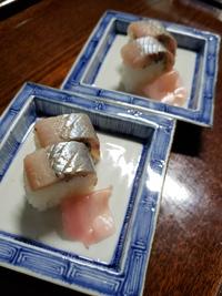 春告魚の棒寿司!