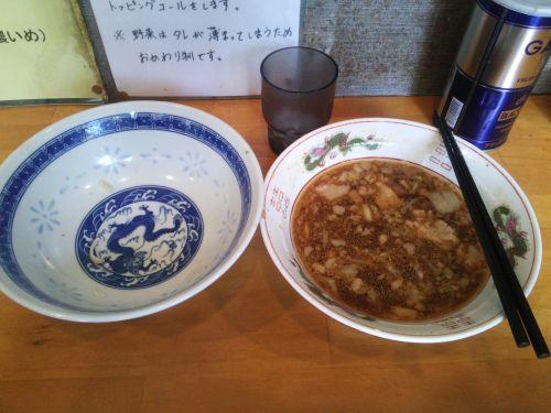 横浜:豚星のつけ麺