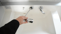 洗面化粧台ハンドシャワー水栓