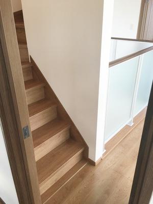 2階の階段