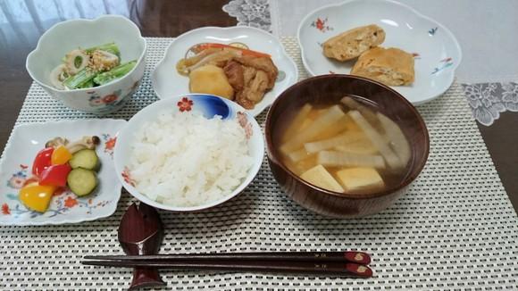 仙台麸が食卓にある風景